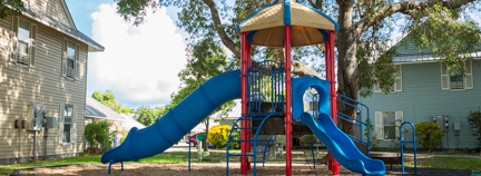 Peary Court Apartments in Key West - Playground